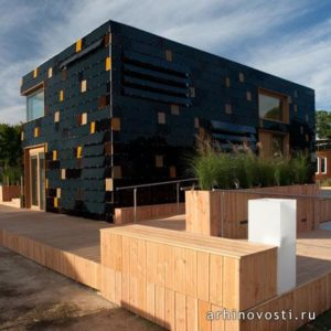 солнечная энергия снабжает дом