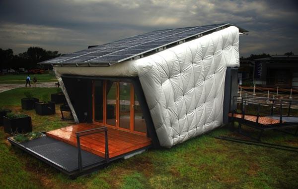Дом питающийся от солнечной энергии и управляемый игровой приставкой Xbox