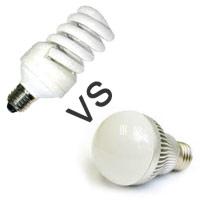 Люминесцентные или светодиодные лампы, что лучше для экодома?