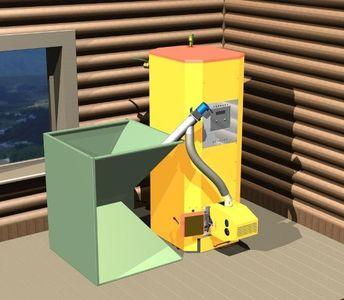 Пеллетные котлы автономного отопления — экологическое совершенство биотоплива