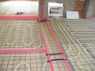 Теплый водяной пол  как энергосберегающая система обогрева помещений