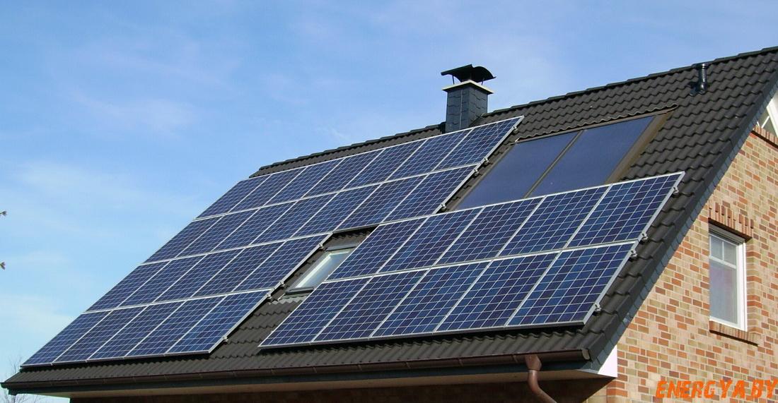 Солнечные батареи для крыши дома — эффективность и целесообразность